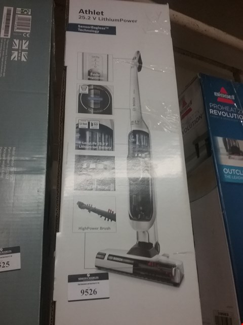 Lot 9526 BOSCH ATHLET 25.2 V VACUUM CLEANER