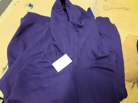 Lot 67 H&M PURPLE HOODY SIZE EUR XL