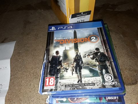 Lot 7125 THE DIVISION 2 - PS4  RRP £70