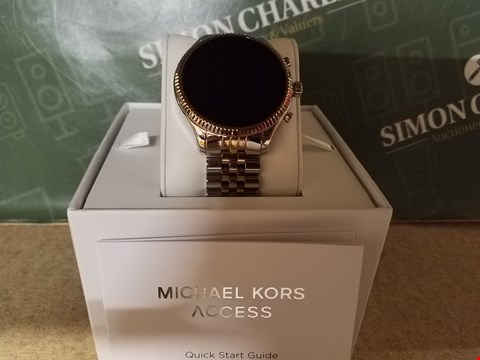 Lot 2 BOXED MICHAEL KORS LEXINGTON FULL DISPLAY WRIST WATCH RRP £339.00