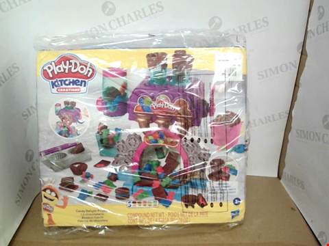 Lot 10496 PLAY-DOH KITCHEN CREATIONS CANDY DELIGHT PLAYSET RRP £32.99