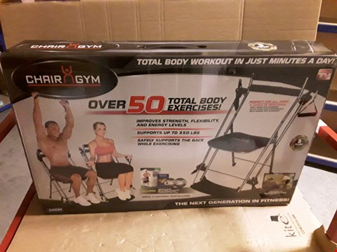 Lot 67 UNBOXED CHAIR GYM EXERCISE MACHINE