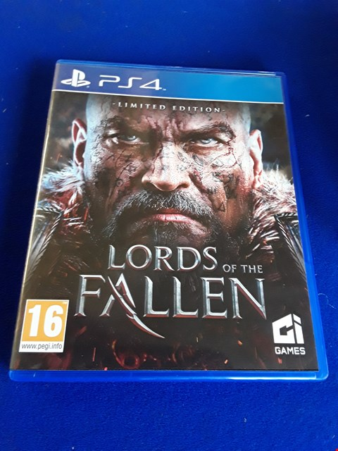 Lot 7636 LORDS OF THE FALLEN PLAYSTATION 4 GAME