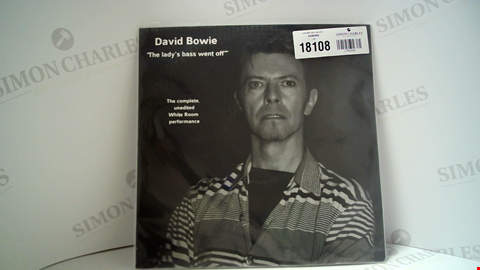 Lot 18108 LOT OF 11 ASSORTED VINYL RECORDS TO INCLUDE DAVID BOWIE, THE 1975, TIM BURGESS ETC