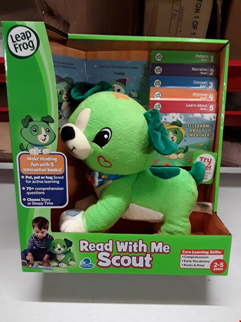 Lot 112 LEAPFROG READ WITH ME SCOUT