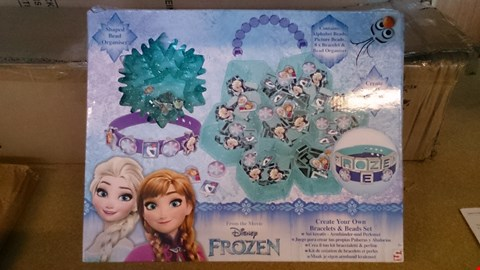 Lot 2353 A SET OF 2 ASSORTED ITEMS INCLUDING A FROZEN BRACELET AND BEAD SET AND A OFFBEAT BRIGHTS ADVENT CALENDAR RRP £35.00