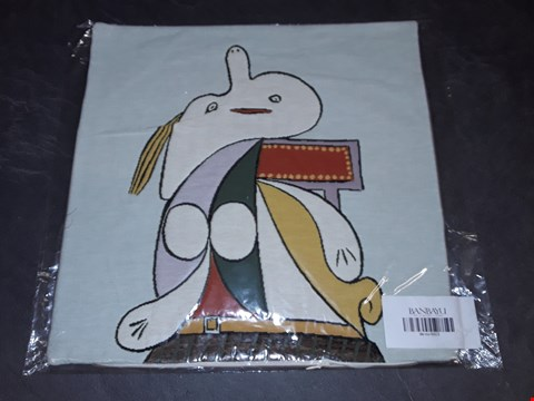 Lot 8154 BRAND NEW 45X45CM  SUCCESSIO JOANMIRO ABSTRACT CUSHION COVER