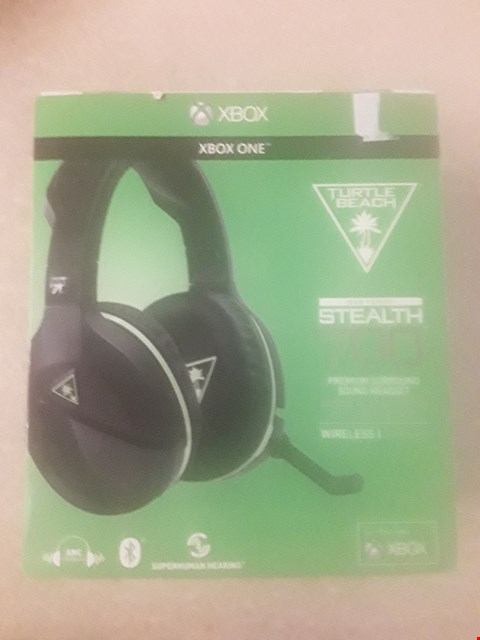 Lot 1482 BRAND NEW BOXED TURTLE BEACH EAR FORCE STEALTH 700 PREMIUM SURROUND SOUND WIRELESS HEADPHONES