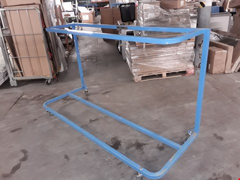 Lot 3080 BLUE STEELY SUITE TROLLEY - 130KG PER LEVEL