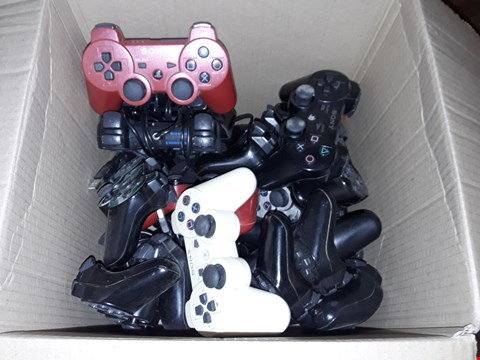 Lot 4480 BOX OF ASSORTED PS3 CONTROLLERS