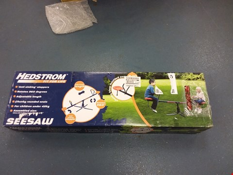 Lot 905 HEDSTROM SEESAW  RRP £54.99