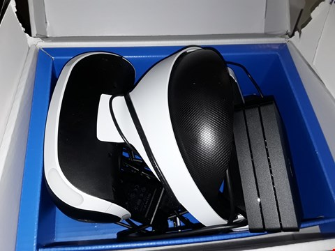 Lot 3174 SONY PLAYSTATION VR + VR WORLDS HEADSET
