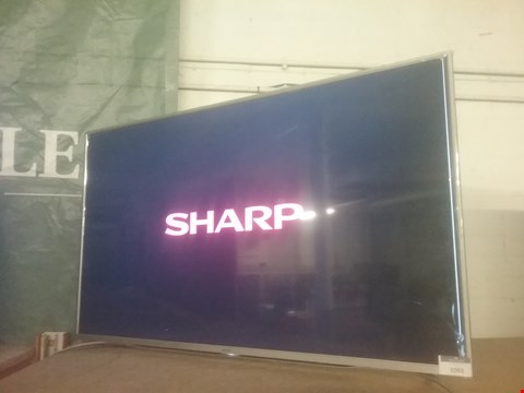 Lot 1061 SHARP LC-55CUG8362KS 55 INCH, 4K ULTRA HD CERTIFIED, SMART TV - BLACK RRP £719.99