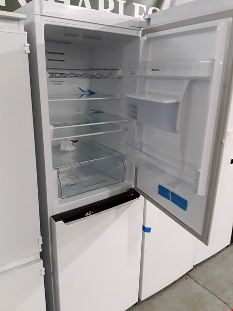 Lot 12063 HISENSE RB381N4WW1 60CM WIDE TOTAL NON FROST FRIDGE FREEZER WITH WATER DISPENSER