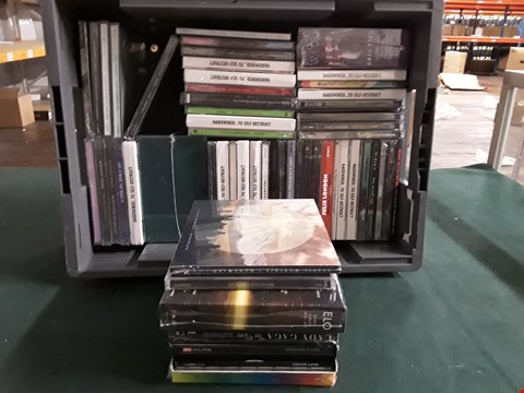 Lot 41 BOX OF APPROXIMATELY 55 ASSORTED CD'S TO INCLUDE LADY GAGA, THE BEATLES, METALLICA ETC