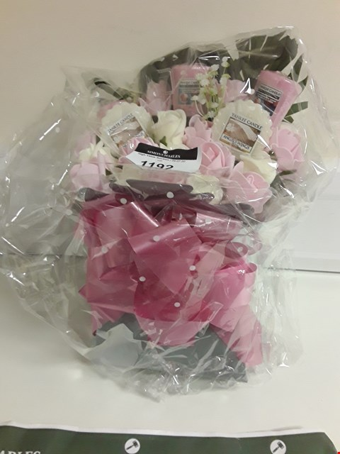 Lot 1192 YANKEE CANDLE BOUQUET GIFT SET
