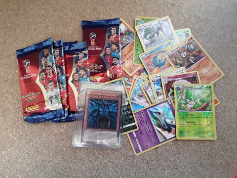 Lot 5039 ASSORTED COLLECTABLE TRADING CARDS, INCLUDING POKEMON, FIFA AND KAZUKI TAMAHASHI