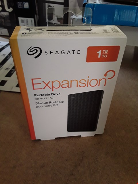 Lot 5 BOXED SEAGATE 1TB PORTABLE EXPANSION DRIVE