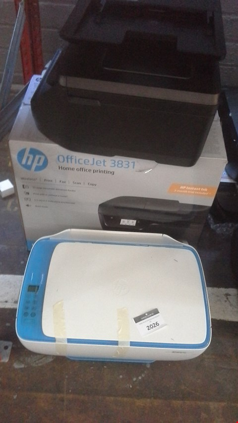Lot 473 A LOT OF 4 HP PRINTERS TO INCLUDE HP DESKJET 3637 AND OFFICEJET 3831