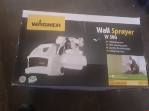 Lot 1166 WAGNER W500 PAINT SPRAYING SYSTEM