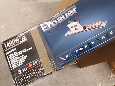 Lot 189 ERBAUER 1400W 185MM PLUNDGE SAW - ERB690CSW