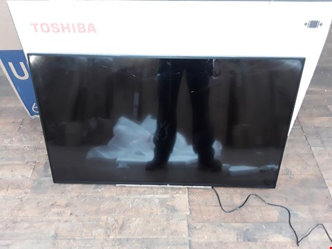 "Lot 1145 TOSHIBA 49"" ULTRA HD DOLBY VISION LCD TV - DAMAGED"