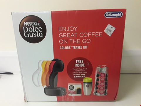 Lot 6075 BOXED DELONGHI NESCAFE DOLCE GUSTO