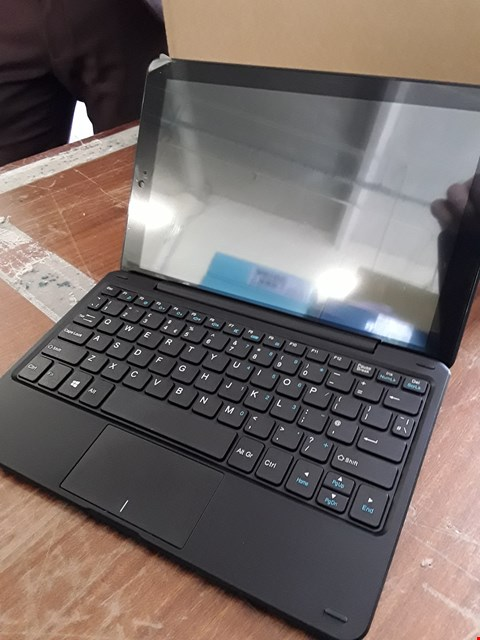 Lot 10 BOXED LINX 10 BLACK TABLET WITH KEYBOARD  RRP £249.99