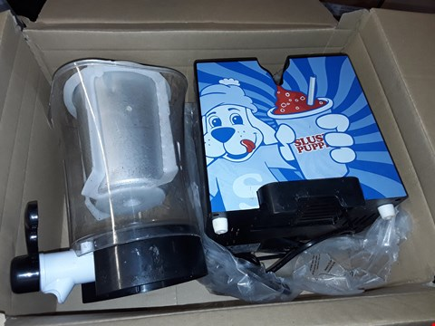 Lot 581 SLUSH PUPPIE SLUSHIE MAKER