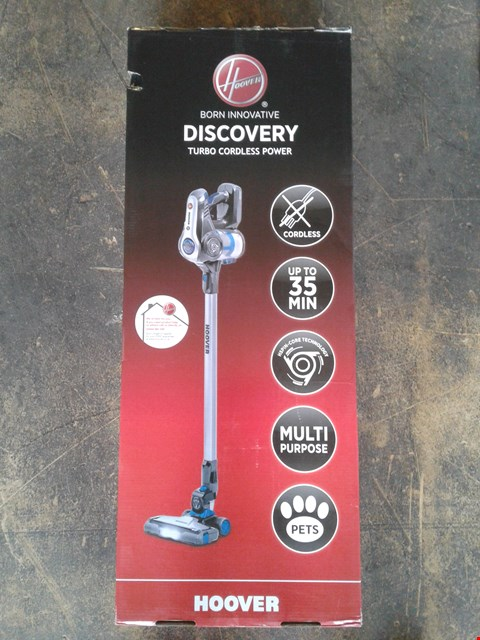 Lot 201 HOOVER DISCOVERY PETS CORDLESS VACUUM