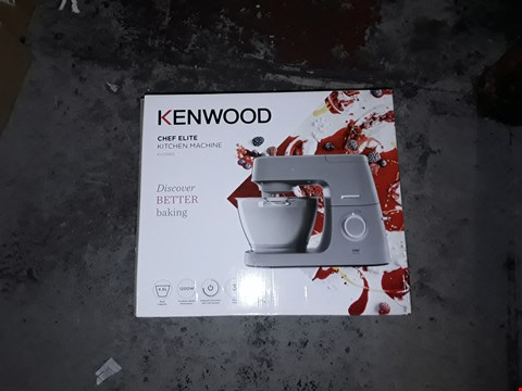 Lot 1110 KENWOOD CHEF ELITE KITCHING MACHINE 1200W 4.6L