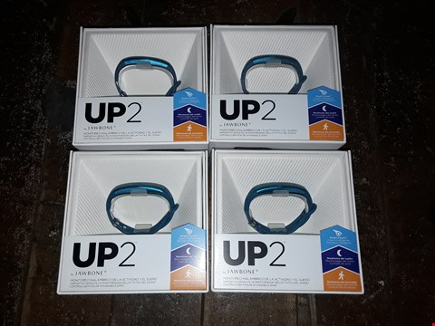"Lot 6344 BOX OF APPROXIMATELY 4 ASSORTED ""UP 2"" BY JAWBONE ACTIVITY TRACKERS"