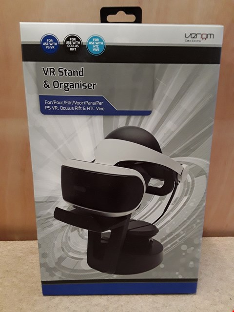 Lot 49 BRAND NEW BOXED VENOM VR STAND AND ORGANISER