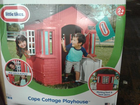 Lot 4080 LITTLE TIKES CAPE COTTAGE PLAYHOUSE (1 BOX) RRP £160.00