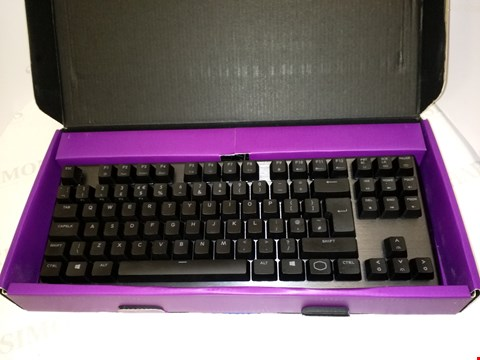 Lot 4505 COOLER MASTER CK530 TENKEYLESS GAMING MECHANICAL KEYBOARD WITH BLUE SWITCHES