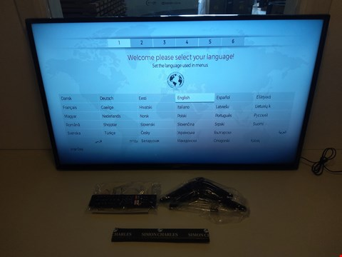 "Lot 126 LUXOR 43"" HD SMART LED TV MODEL NUMBER LUX0143006/01 RRP £299.00"