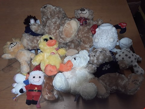 Lot 227 LOT OF APPROXIMATELY 12 ASSORTED PLUSH TOYS