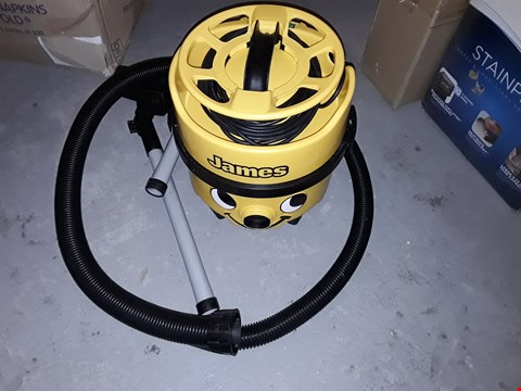Lot 579 NUMATIC INTERNATIONAL JAMES JVP180 VACUUM CLEANER
