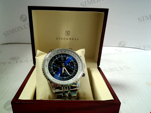 Lot 7159 DESIGNER STOCKWELL AUTOMATIC WATCH WITH CHRONOGRAPH MOVEMENT RRP £750.00