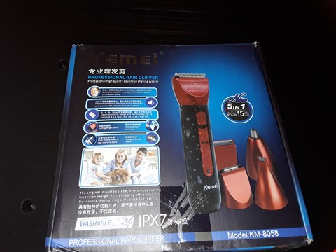 Lot 87 BOXED KEMEI PROFESSIONAL HAIR CLIPPER