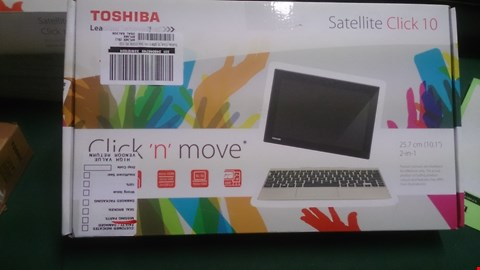 Lot 1479 TOSHIBA CLICK 10 LXOW-C-104 INTEL ATOM 2 IN 1 NETBOOK/TABLET RRP £459.99