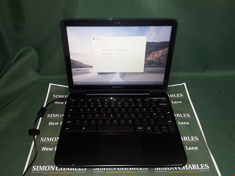 "Lot 3181 SAMSUNG XE500C21 11.6"" CHROMEBOOK - SLATE GREY"