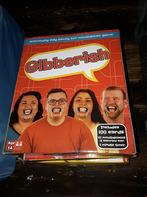 Lot 2132 LOT OF 3 GIBBERISH MOUTHPIECE GAMES