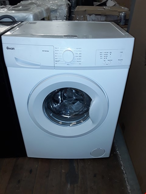 Lot 12001 SWAN SW15810W 6KG 1200 SPIN WASHING MACHINE IN WHITE