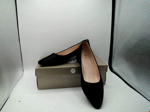 Lot 1128 BOXED PAIR OF DESIGNER PETER KAISAR SHOES - UK SIZE 6