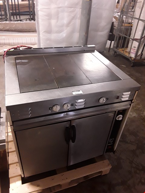 Lot 8024 FALCON SOLID TOP GAS OVEN RANGE