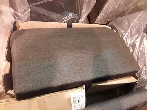 Lot 98 BOXED PAIR OF CHARCOAL FABRIC SOFA ARMS