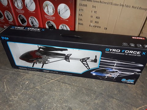 Lot 7426 GYRO FORCE X R/C HELICOPTER