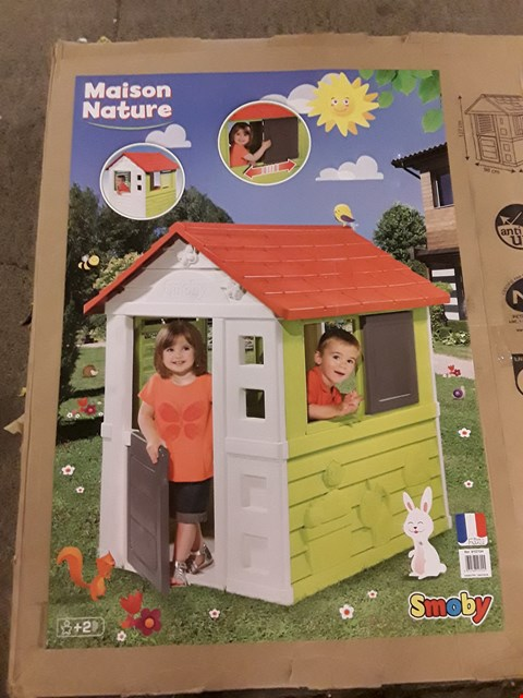 Lot 2289 BOXED GRADE 1 SMOBY MAISON NATURE (NATURE HOME) RRP £209.99