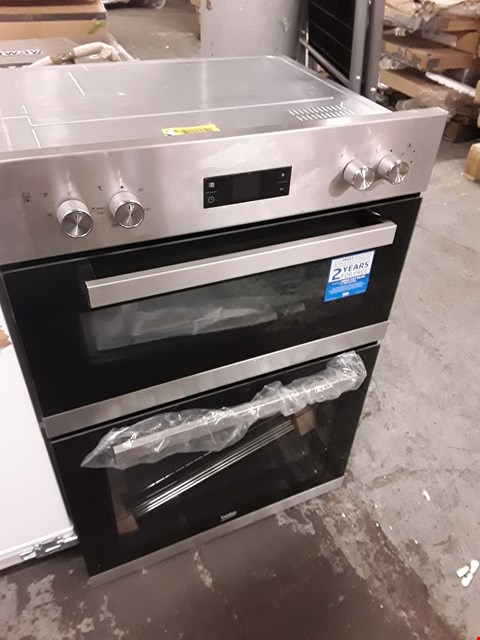 Lot 5 BEKO BUILT IN DOUBLE ELECTRIC OVEN  RRP £400